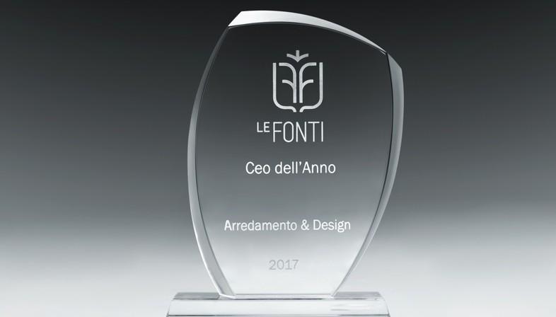 Federica Minozzi Ceo dell'Anno per Le Fonti Awards