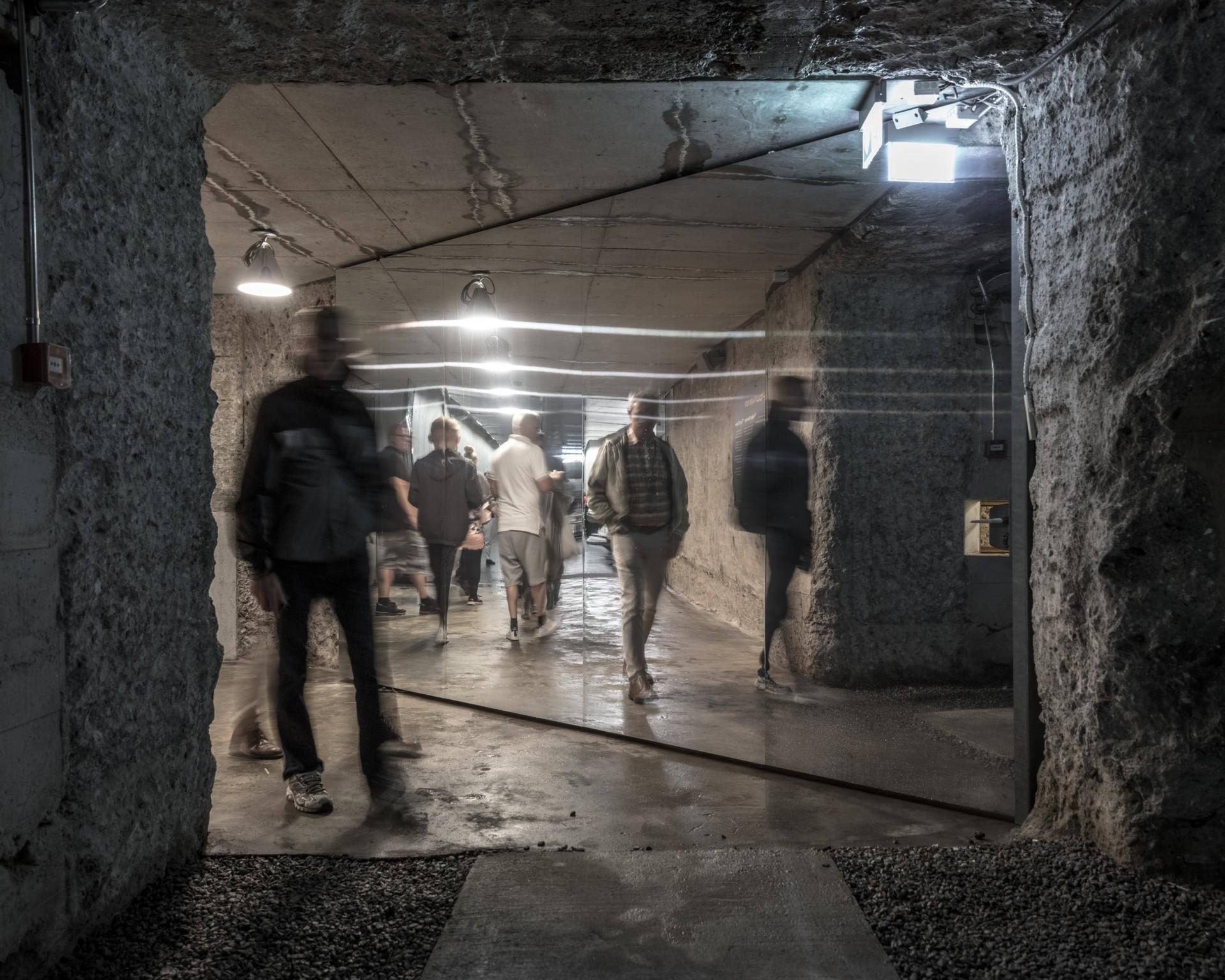 BIG Bjarke Ingels Group Tirpitz il museo invisibile in Danimarca