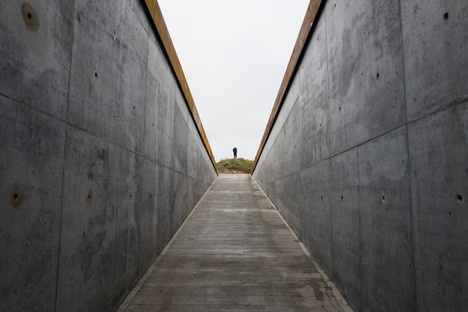 BIG Bjarke Ingels Group Tirpitz il museo invisibile in Danimarca