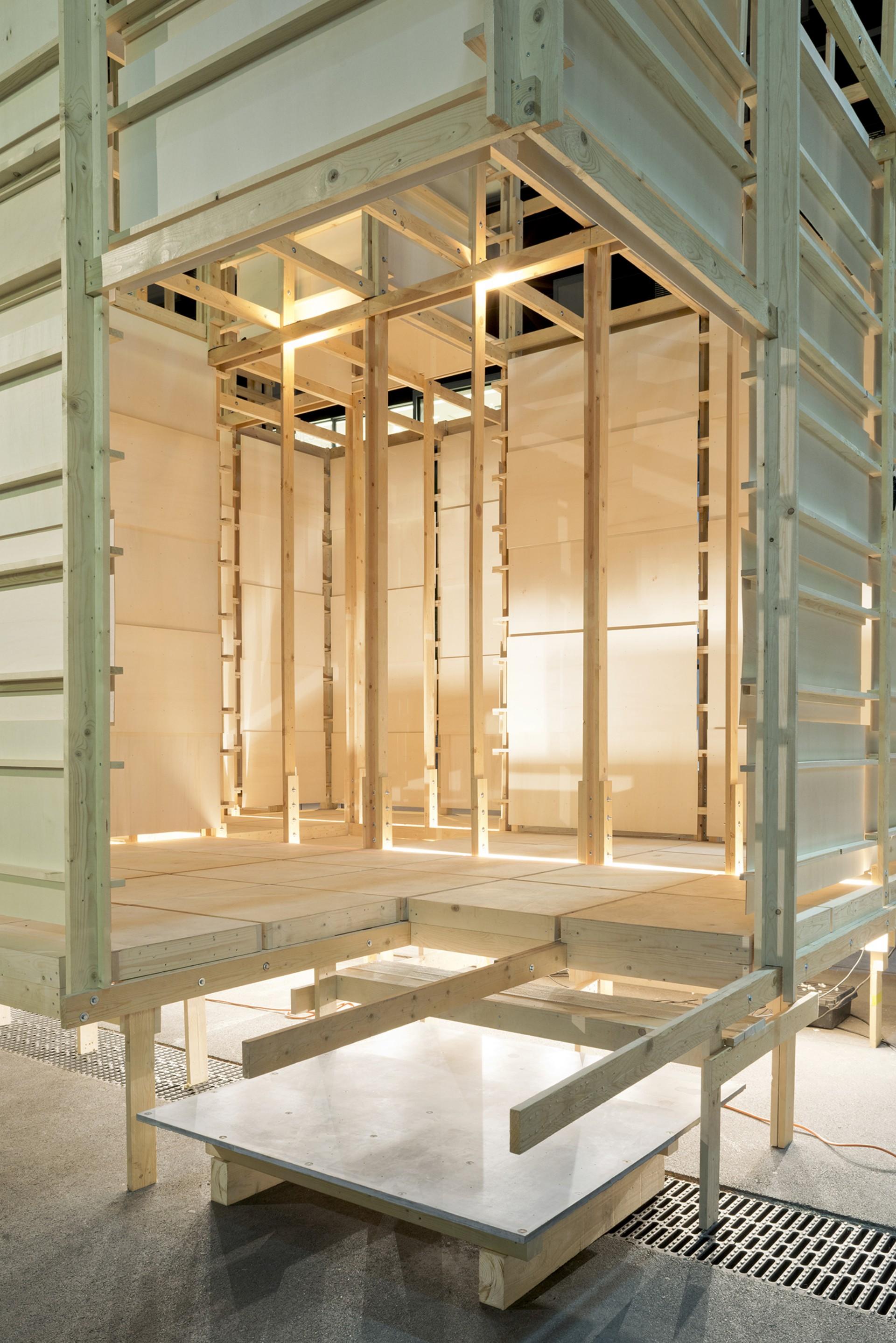 Alice installazione House 2 - Counter City a Zurigo