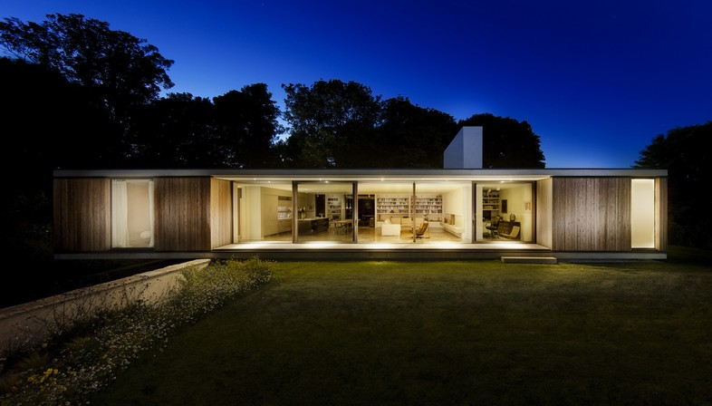 Strom Architects casa privata The Quest Dorset
