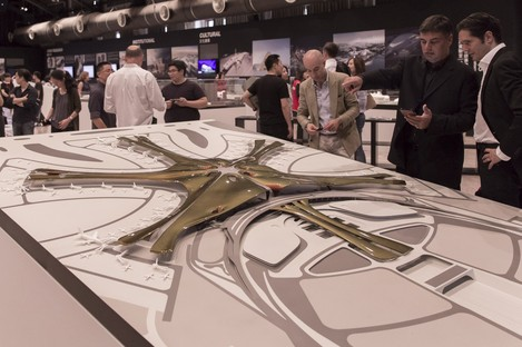 Mostra Global Design Laboratory Zaha Hadid Architects a Taipei