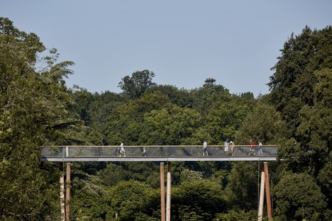 Camminando a tu per tu con gli alberi Glenn Howells Architects Stihl Treetop Walkway