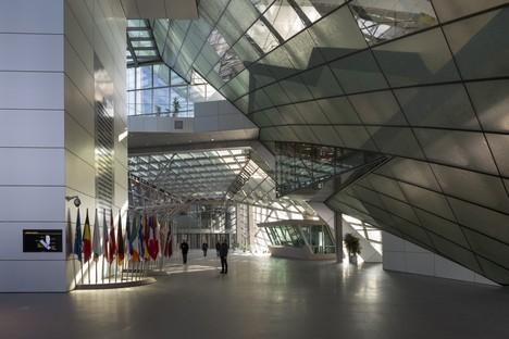COOP HIMMELB(L)AU sede della BCE a Francoforte