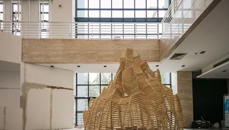 Esercizi modulari per giovani architetti alla Central Academy of Fine Arts di Pechino