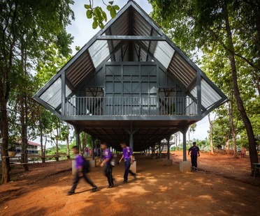 Post Disaster School di Vin Varavarn Architects vince Biennale Cappochin 2017