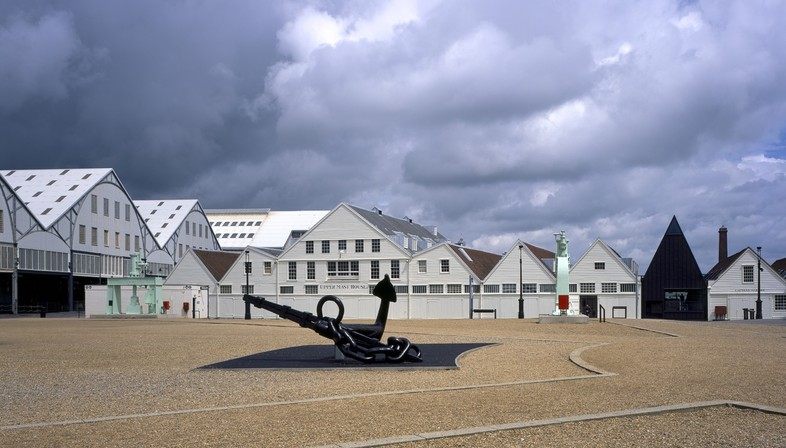 Baynes and Mitchell Architects Command of the Oceans Chatham