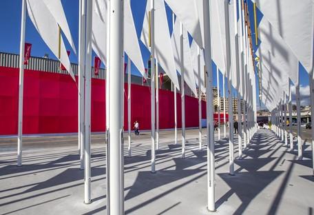 OBR Piazza del Vento un nuovo landmark urbano per Genova