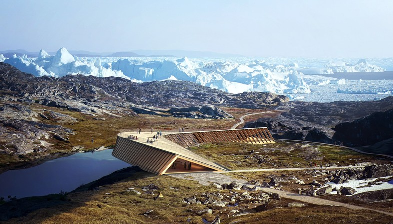 Dorte Mandrup Arkitekter The Icefiord Centre a Ilulissat Groenlandia