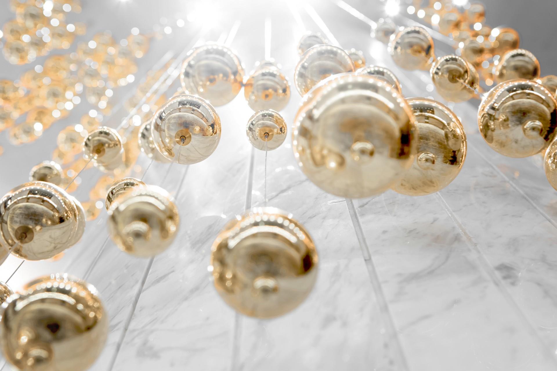 Le preziose bolle fluttuanti di AD Architecture per Lonshry Jewelry