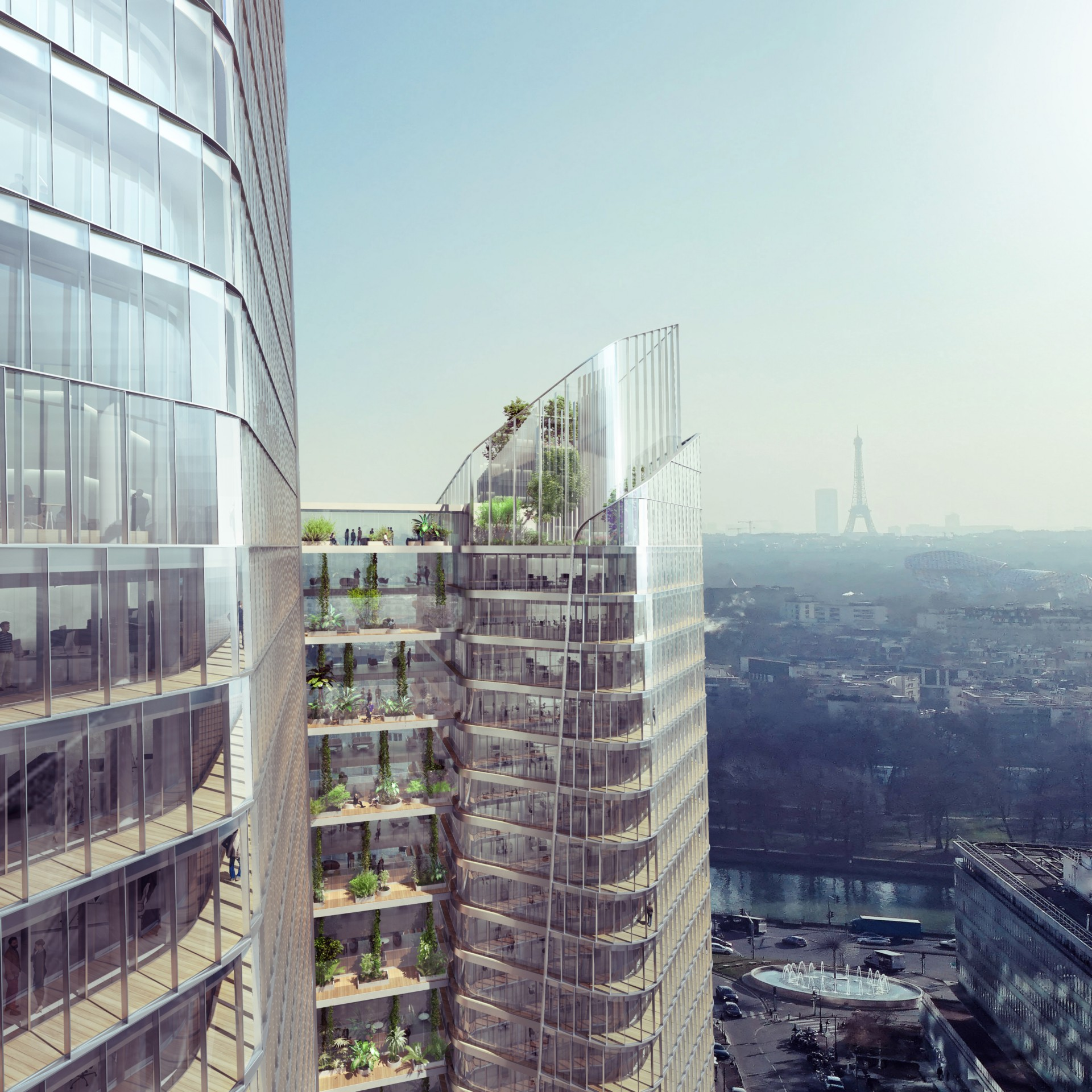 PCA-STREAM the Link nuovo landmark urbano per Parigi