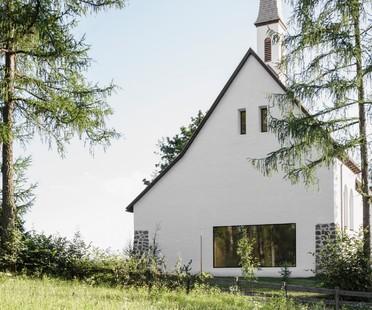 Messner Architects Chiesa San Giuseppe nel Bosco a Stella di Renon