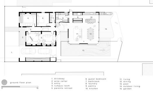 Luigi Rosselli Architects Pool House a Randwick