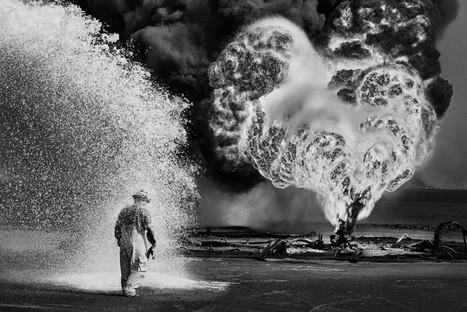 mostra Sebastião Salgado Kuwait. Un deserto in fiamme
