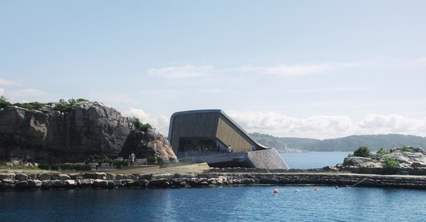Snøhetta progetta Under il primo ristorante europeo sottomarino