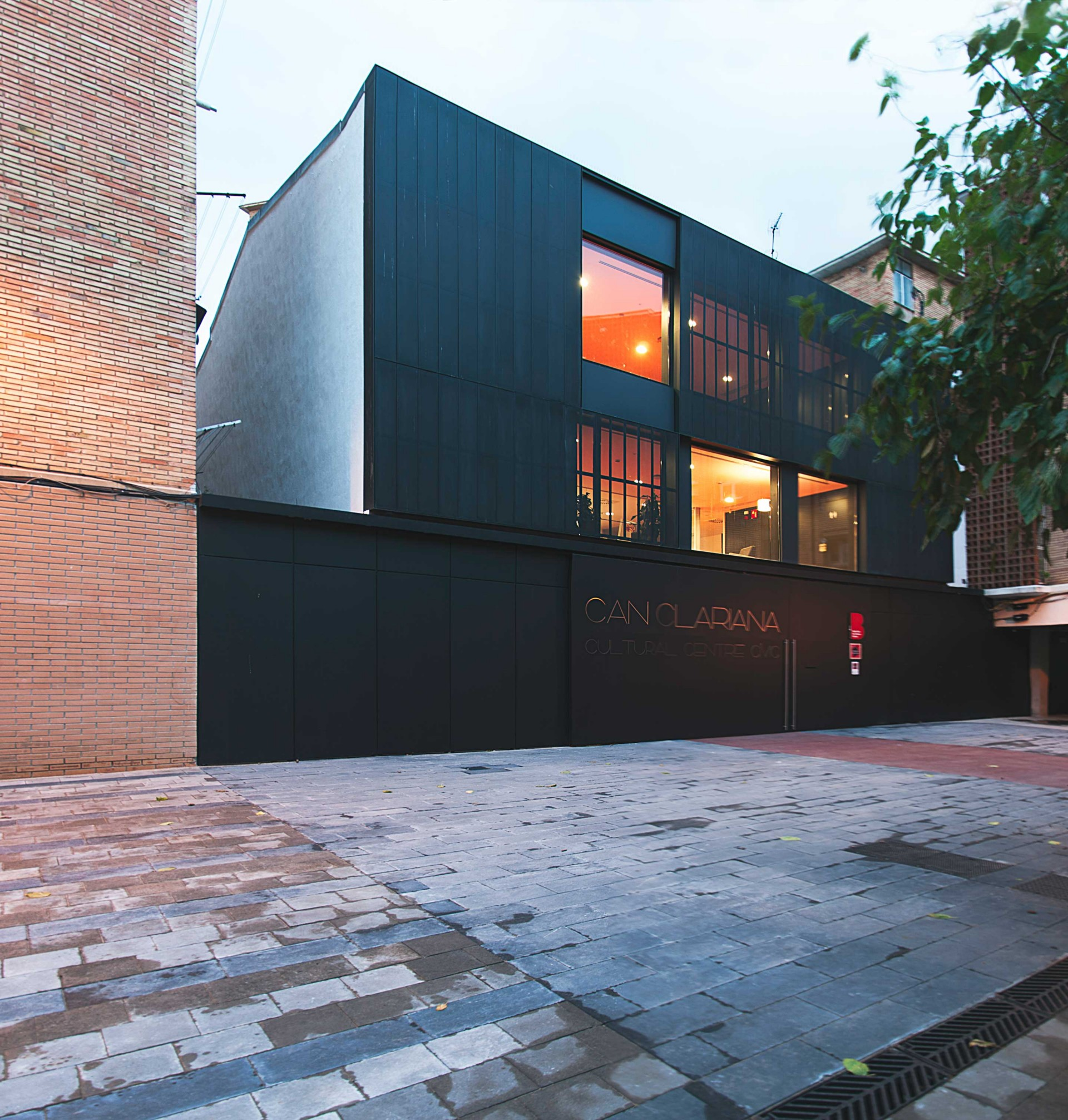 BCQ arquitectura Centro Civico CAN CLARIANA CULTURAL Barcellona