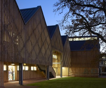 Feilden Clegg Bradley Studios Art and Design Building Bedales School Hampshire