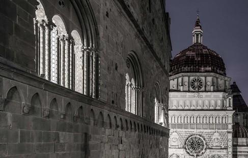 CN10architetti Nuovo allestimento Sala delle Capriate Palazzo della Ragione Bergamo Alta