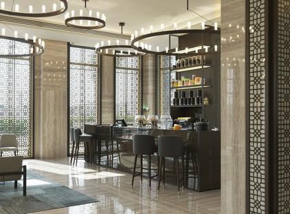 Matteo Nunziati e Fiandre per il Fraser Suites di Doha Qatar
