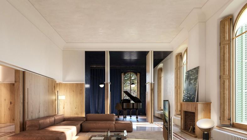 Can llimona storia di una villa e di tre interventi for Grandi piani di una casa da ranch di storia