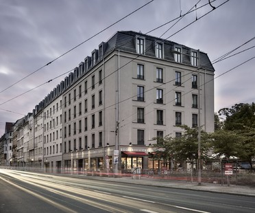 Tchoban Voss Architekten Albia residenze studentesche a Dresda