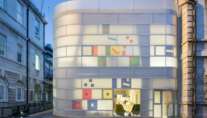 Steven Holl Architects Maggie's Centre Barts Londra