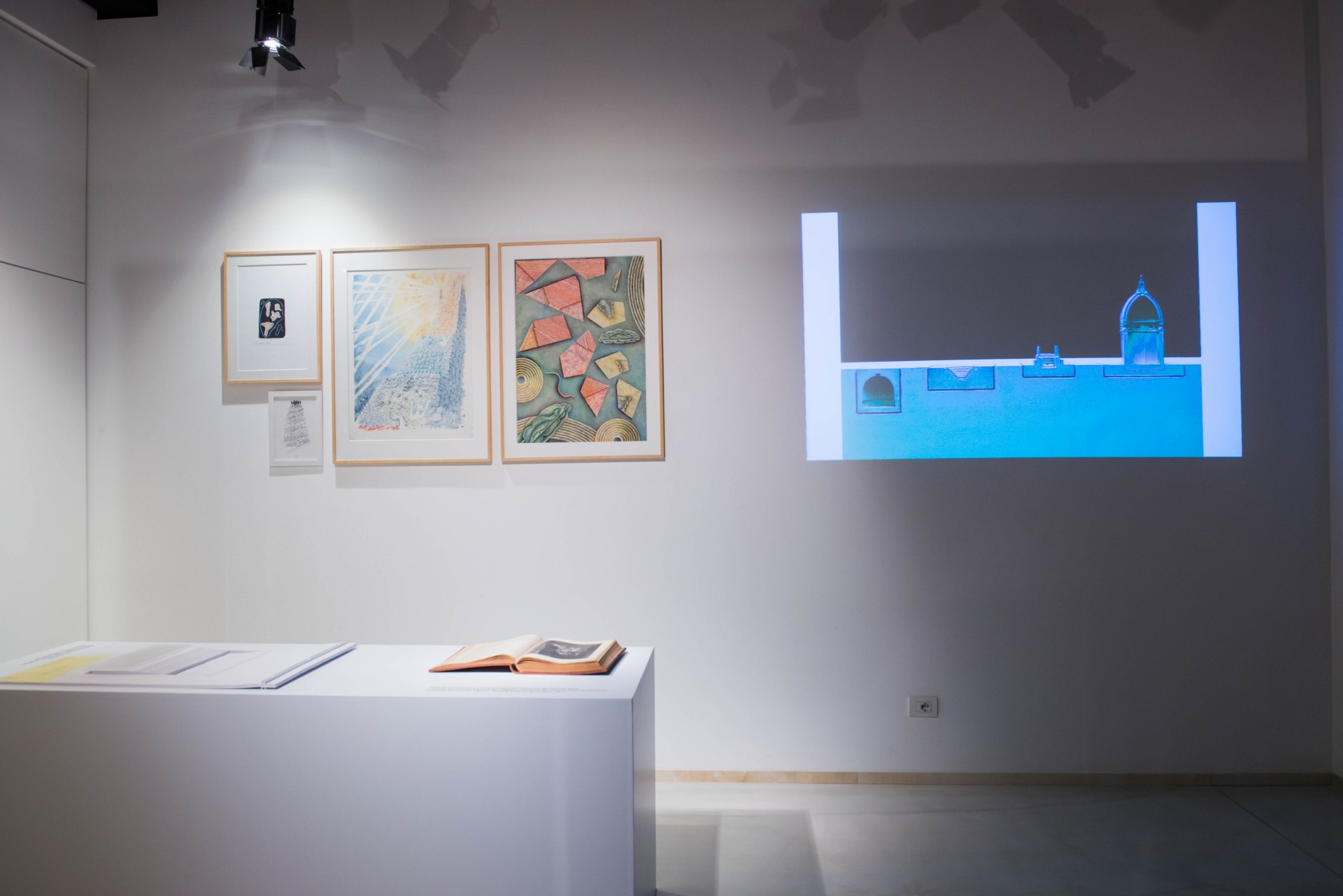 Architettura e Divina Commedia - Inaugurata la mostra a SpazioFMG