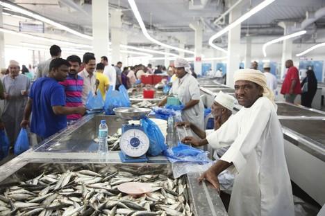 Snøhetta completato il Muttrah Fish Market - Oman