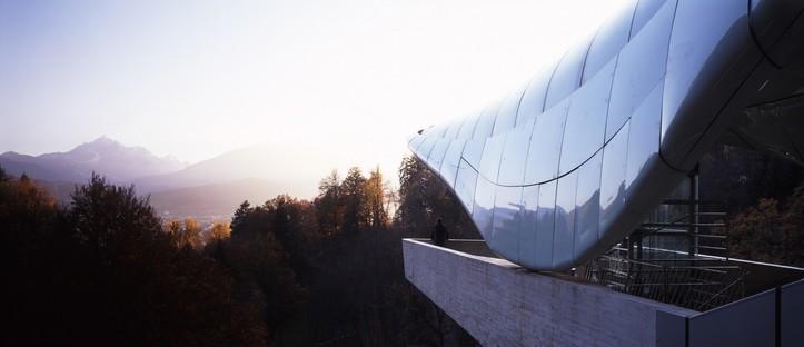 Zaha Hadid la funicolare Hungerburg di Innsbruck festeggia 10 anni