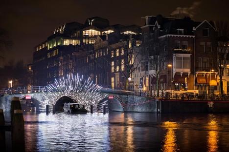 Architettura e luce nelle notti di Londra e Amsterdam