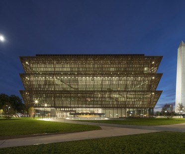Washington Museum di David Adjaye è Best Design of the Year 2017