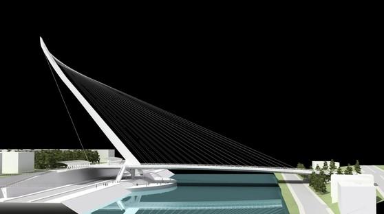 Inaugurato il nuovo ponte di Calatrava a Cosenza