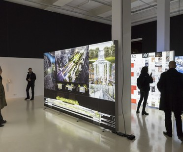 Mostra Dominique Perrault The Groundscape Experience Aedes Architecture Forum