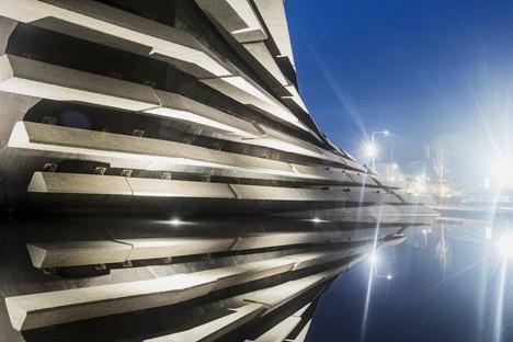 Aprirà in settembre il museo V&A Dundee progettato da Kengo Kuma