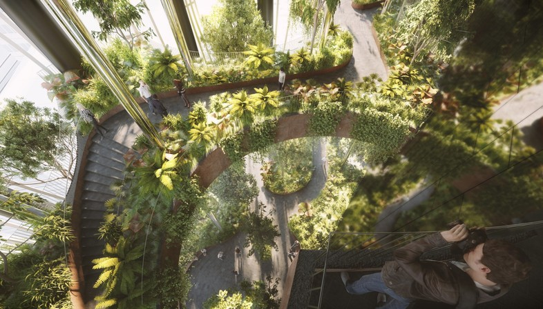 Big e cra natura e architettura nel grattacielo singapore for Architettura natura