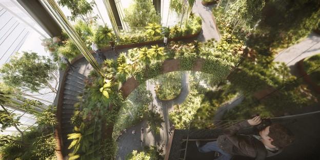 BIG e CRA Natura e Architettura nel grattacielo Singapore Tower