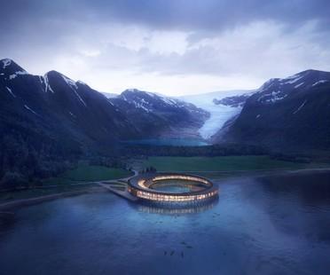 Snøhetta Svart Primo Hotel a Energia Positiva al Circolo Polare Artico