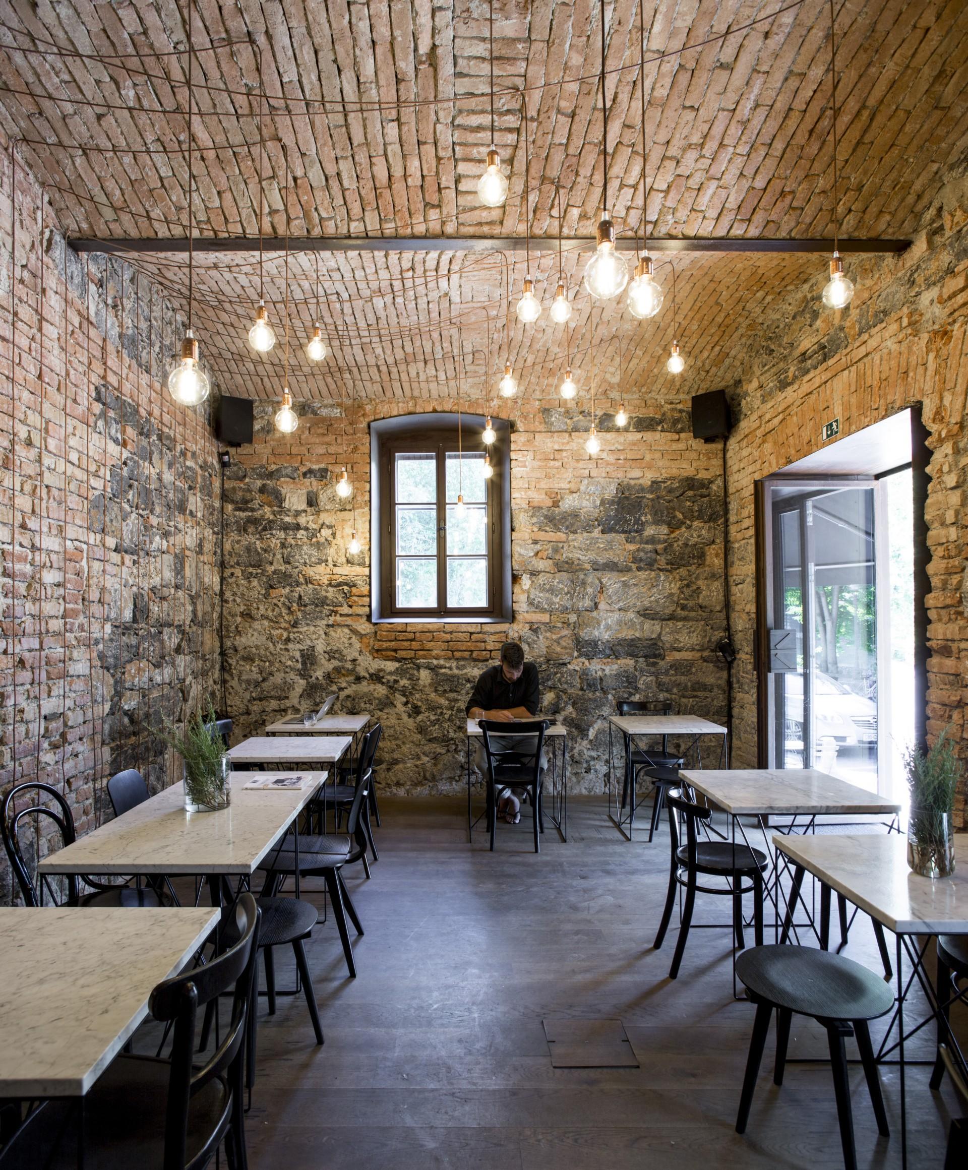 Dekleva Gregorio Architects Bistro EK Ljubljana   Floornature