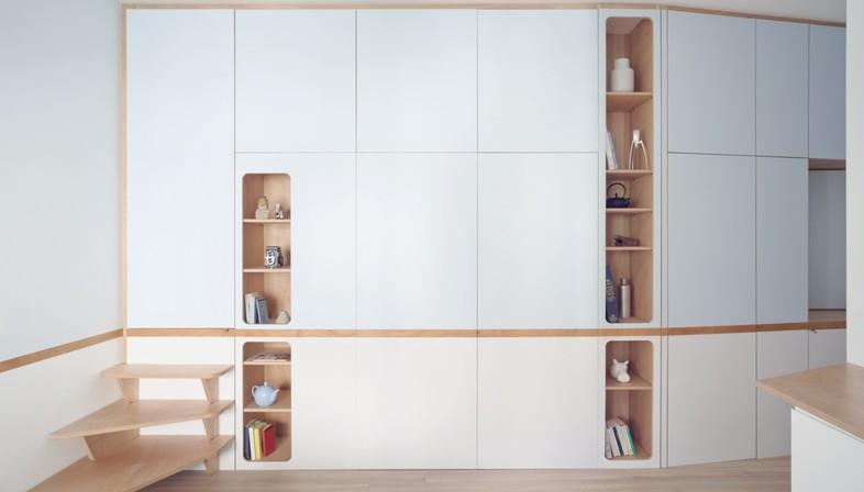 APPAREIL e ILABB interior con pareti attrezzate | Floornature
