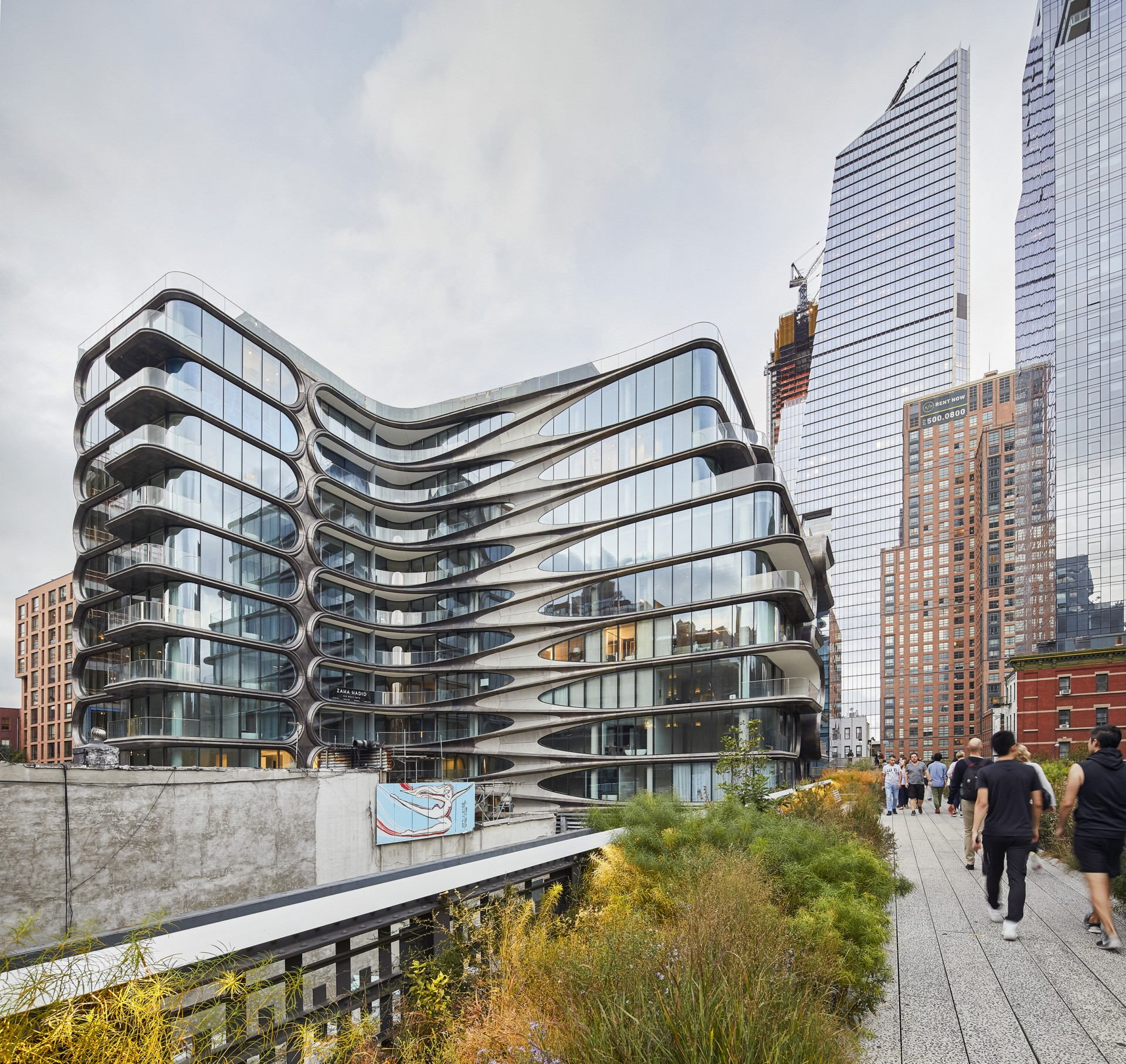 Zaha Hadid Architects 520 West 28th e le fotografie di Hufton+Crow