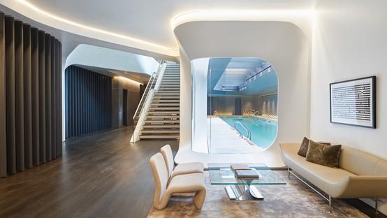 Zaha Hadid Architects 520 West 28th e le fotografie di Hufton+Crow