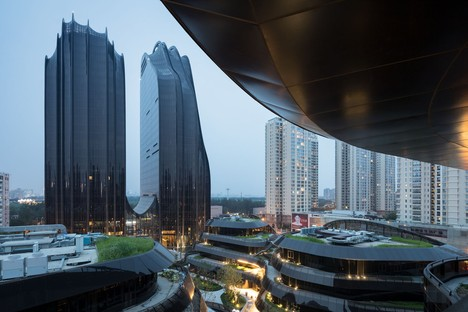 MAD Architects Chaoyang Park Plaza Pechino