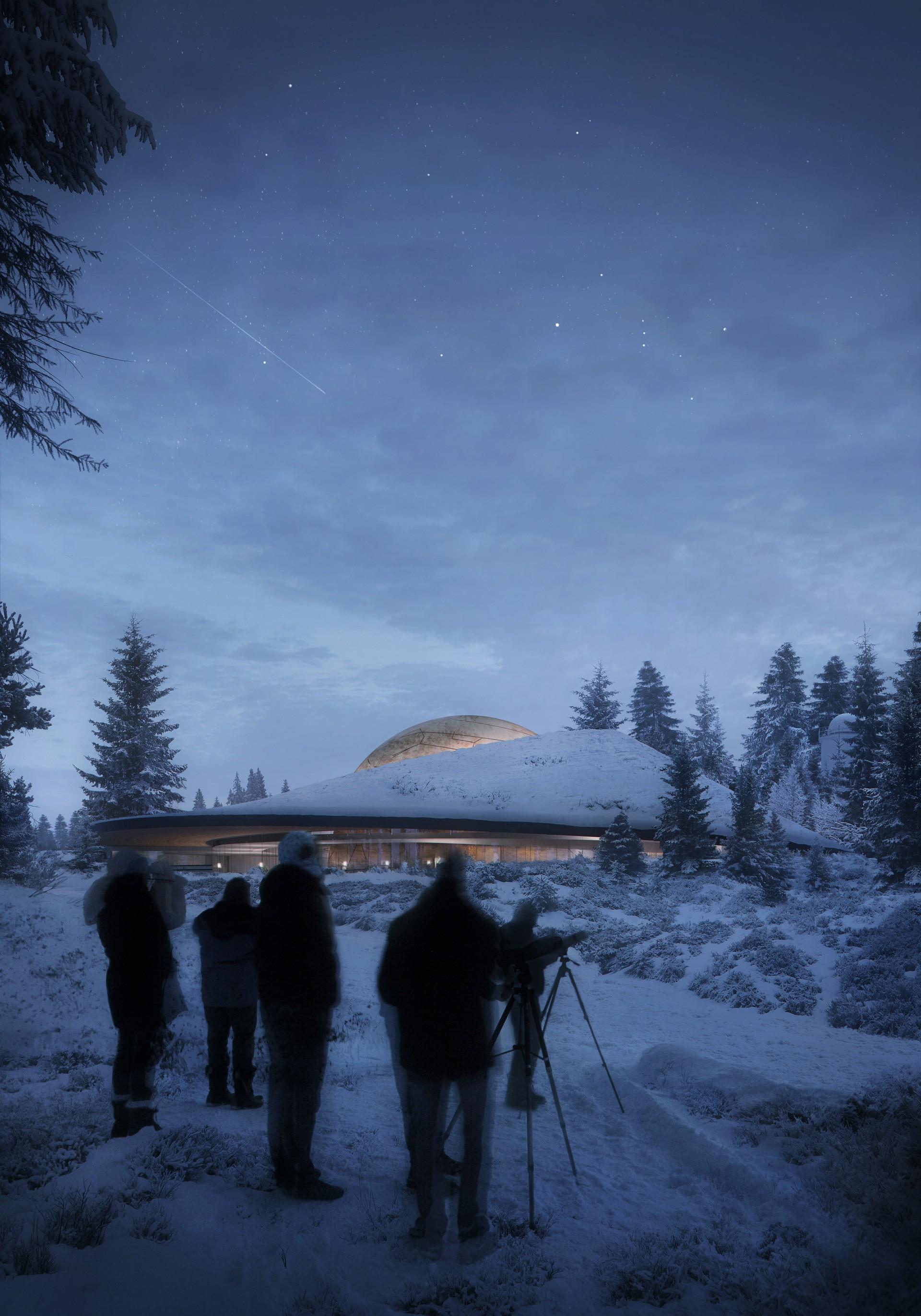 Snøhetta Planetario e centro visitatori Solobservatoriet Norvegia