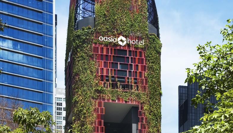Best Tall Building Worldwide 2018 è Oasia Hotel Downtown