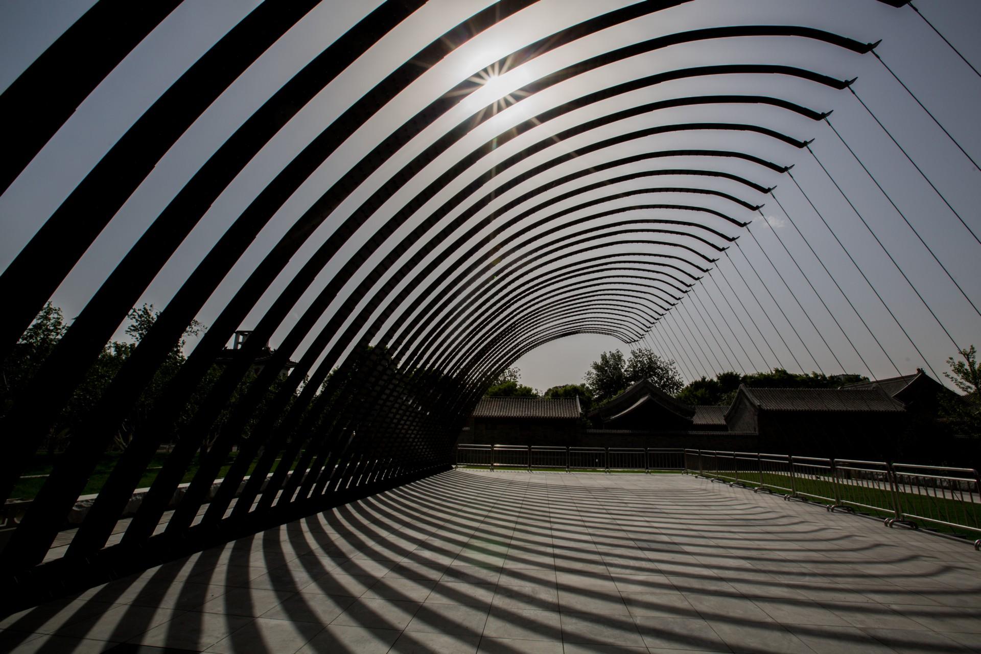 Jiakun Architects primo Serpentine Pavilion Beijing