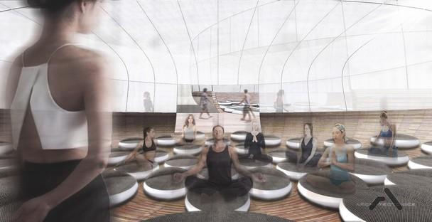 Archi-Tectonics Inscape spazi per la meditazione a New York