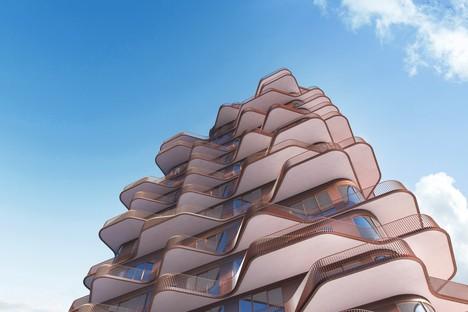 Aquabella e Aqualuna due progetti residenziali di 3XN Architects per Toronto