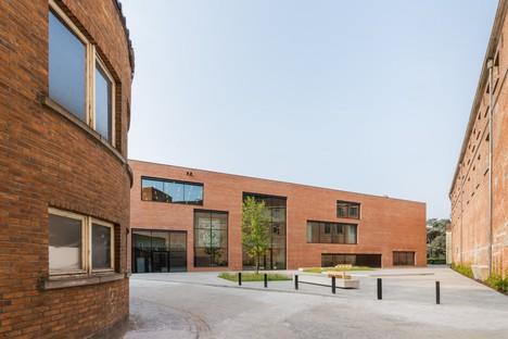 KAAN Architecten Utopia Biblioteca Accademia Arti Performative a Aalst Belgio