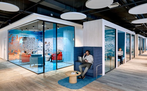 Evolution Design ha creato per Sberbank degli headquarters come Google