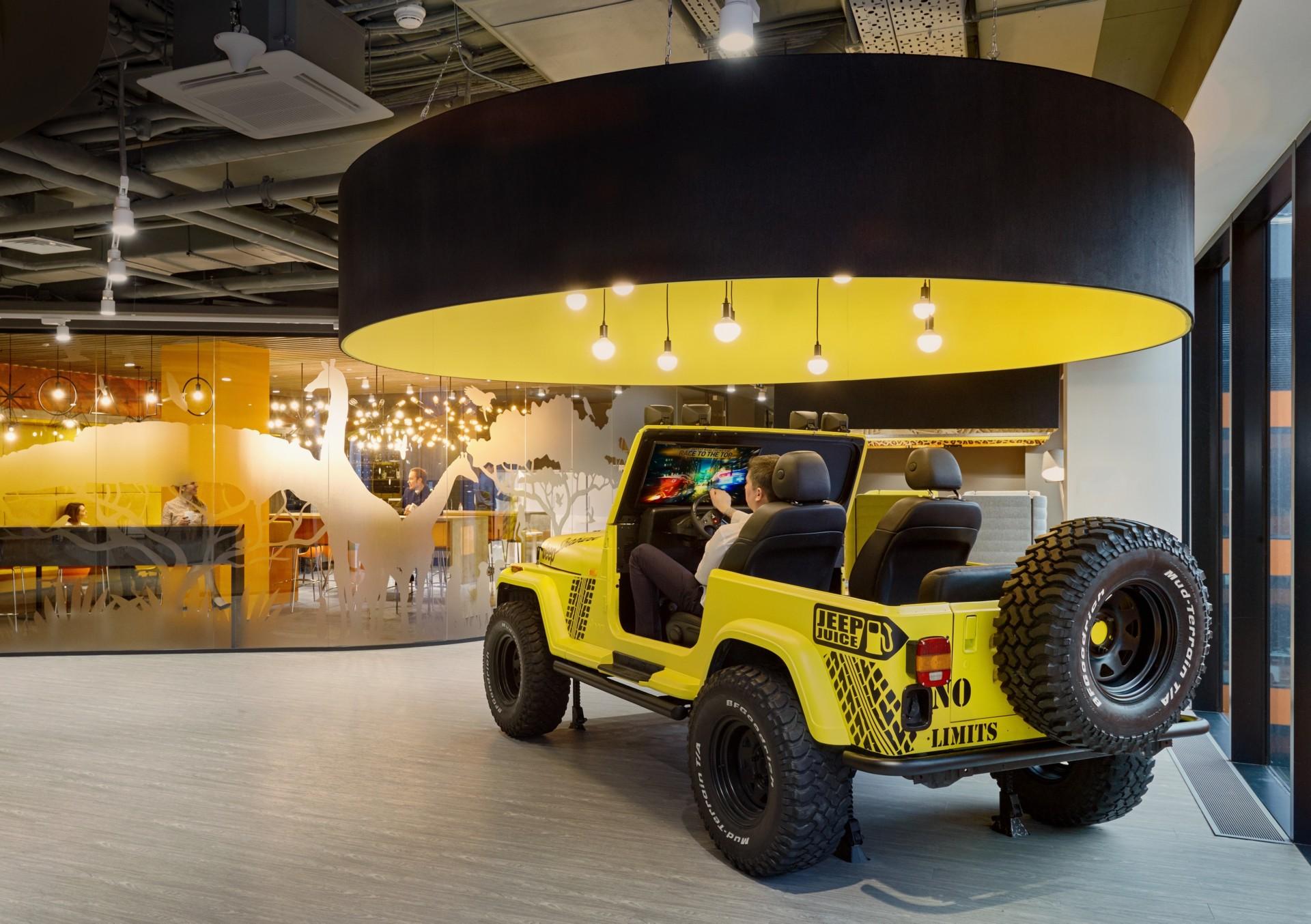 Evolution Design ha creato per Sberbank degli headquarters come Google